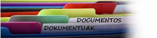 Documentuak - Documentos