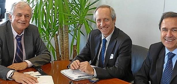 Jorge Arévalo en Bruselas