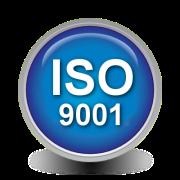 Botón ISO 9001